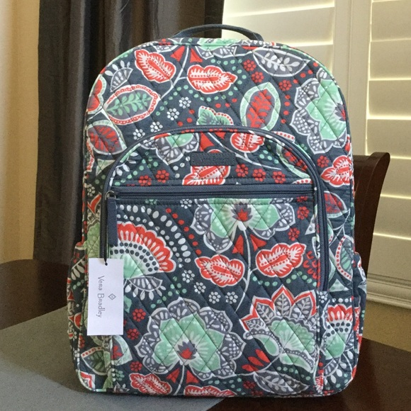 9b08ef70f5e1 NWT VERA BRADLEY CAMPUS BACKPACK